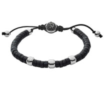 Armband grau / schwarz / silber