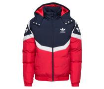 Jacke dunkelblau / rot / weiß