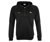 Sweatshirt 'sterio' grau / schwarz