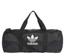 Reisetasche schwarz / weiß