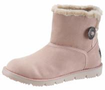 Snowboots 'Button' rosa