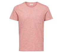 Schlichtes T-Shirt rot