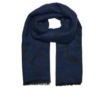 Schal dunkelblau / schwarz