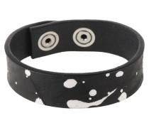 Armband 'a-Pol' schwarz / weiß