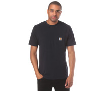 Pocket T-Shirt dunkelblau