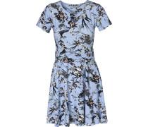 Kleid 'Nidot' rauchblau / mischfarben