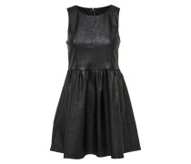 Kleid 'onlWILSHIRE PU Dress Pnt' schwarz