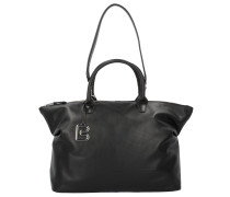 'Stockholm 37' Handtasche 39 cm Leder schwarz