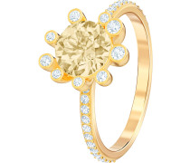 Ring 'Olive' goldgelb / silber