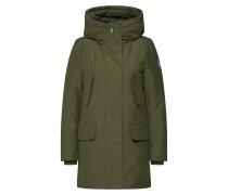 Mantel 'cappotto Cappuccio' oliv