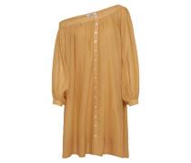 Kleid 'Neele' sand / goldgelb