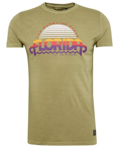 T-Shirt 'flo' schilf / mischfarben