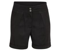 Shorts 'onlANNA Turn-Up Wvn' schwarz