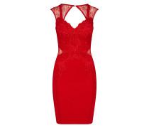 Kleid 'red App' rot