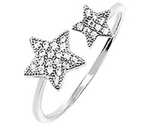 Ring 'baby I´M A Star' silber