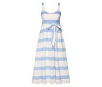 Kleid hellblau / offwhite