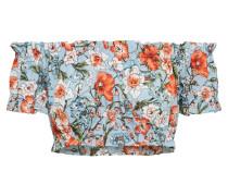 Top 'Floral Gathered Bardot'