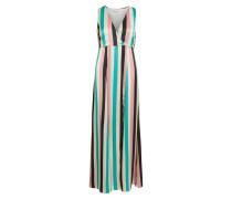 Kleid jade / rosa / schwarz / weiß