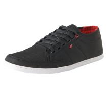 Sneaker 'Sparko' rot / schwarz / weiß