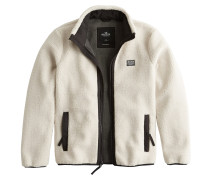 Jacke 'ld19-Sherpa Jacket Cream AND Black 2Cc'