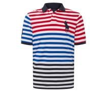 Poloshirt navy / mischfarben