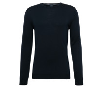 Pullover aus Feinstrick 'Denny' dunkelblau