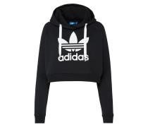 Sweatshirt 'trefoil Crop Hoodie'