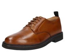 Halbschuhe 'Sennen leather' karamell