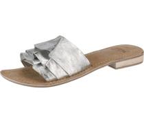 Pantoletten 'Donda' silber