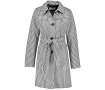 Mantel mit Vichy-Karo schwarz / weiß