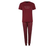 Pyjama 'umset-Jake-Julio Pyjama' rot