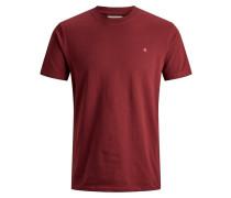 T-Shirt kirschrot