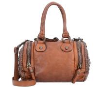 Handtasche 'Bauletto' 21 cm cognac