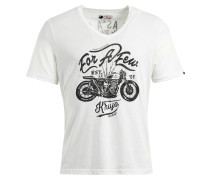 Shirt 'Benjy' schwarz / weiß