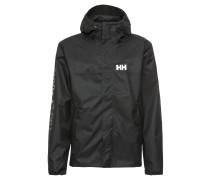Übergangsjacke 'ervik Jacket' schwarz