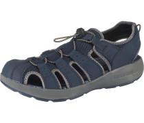 Sandalen himmelblau / grau