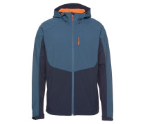 Jacke 'Barnes' orange / marine / blau