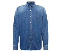 Hemd 'standard Shirt Pid' blue denim