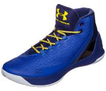 Curry 3 Basketballschuh blau / weiß