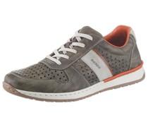 Sneaker orange / braun / grau
