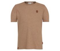 T-Shirt 'Italienischer Hengst' hellbraun