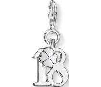 Charm-Einhänger 'Glückszahl 18 0473-001-12'