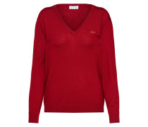 Pullover 'tricot' rot