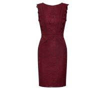 Kleid 'vania' merlot