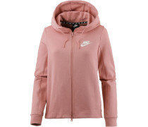Sweatjacke 'Optic' altrosa