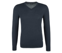 Pullover nachtblau / taubenblau