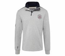 Sweatshirt grau / mischfarben / schwarz