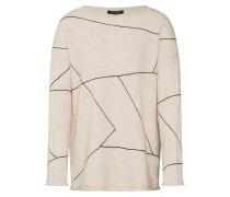 Pullover beige / nude / schwarz