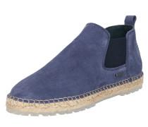 Espadrille-Chelseaboots blau