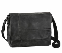 Messenger Bag 'laos' schwarz